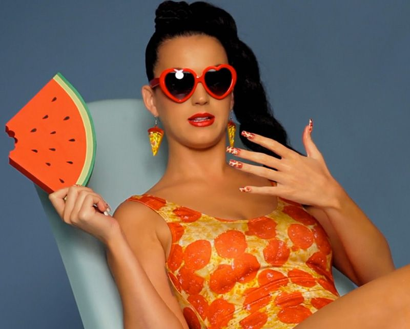 Katy Perry Had Pizza Nails In \'This Is How We Do\' And We Didn\'t Even ...