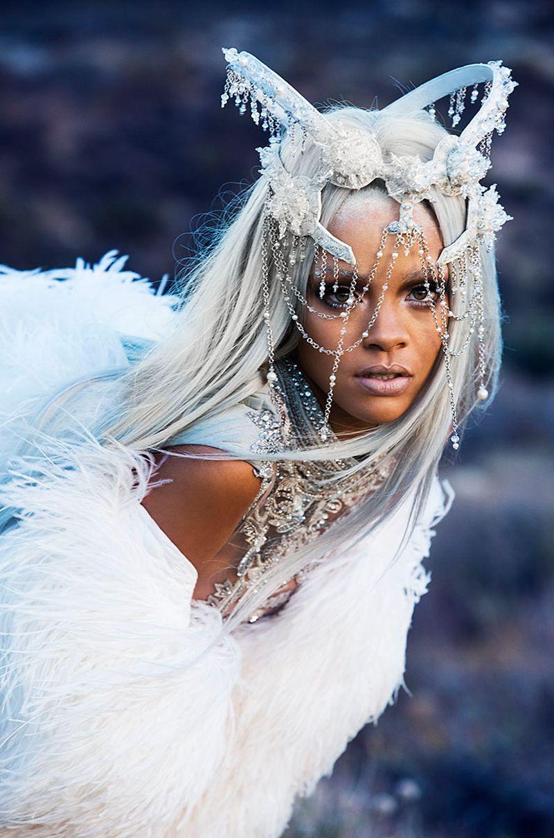 Rihanna Goes High Fashion Grandma For Tush Mtv