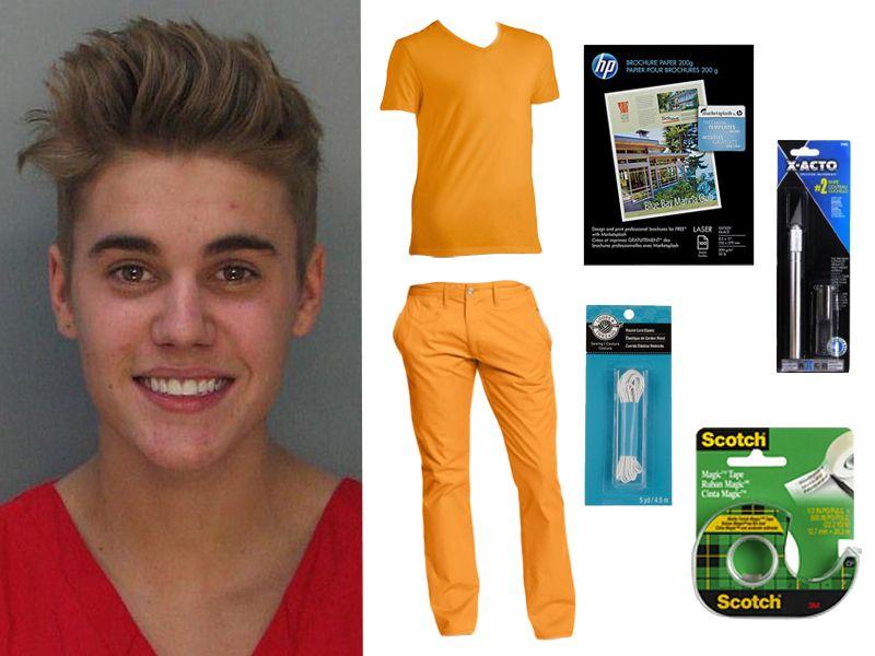Justin Bieber 2020 Halloween Costume How To Make Your Own Justin Bieber Mugshot Costume For Halloween   MTV