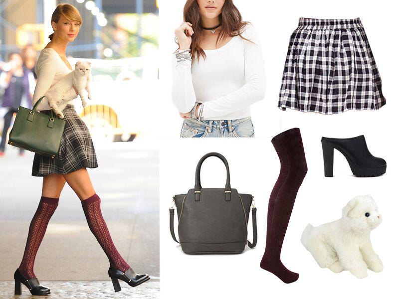 ... Taylor Swift costume! Splash News  sc 1 st  MTV.com & Super Last Minute Halloween Costume: Taylor Swift - MTV