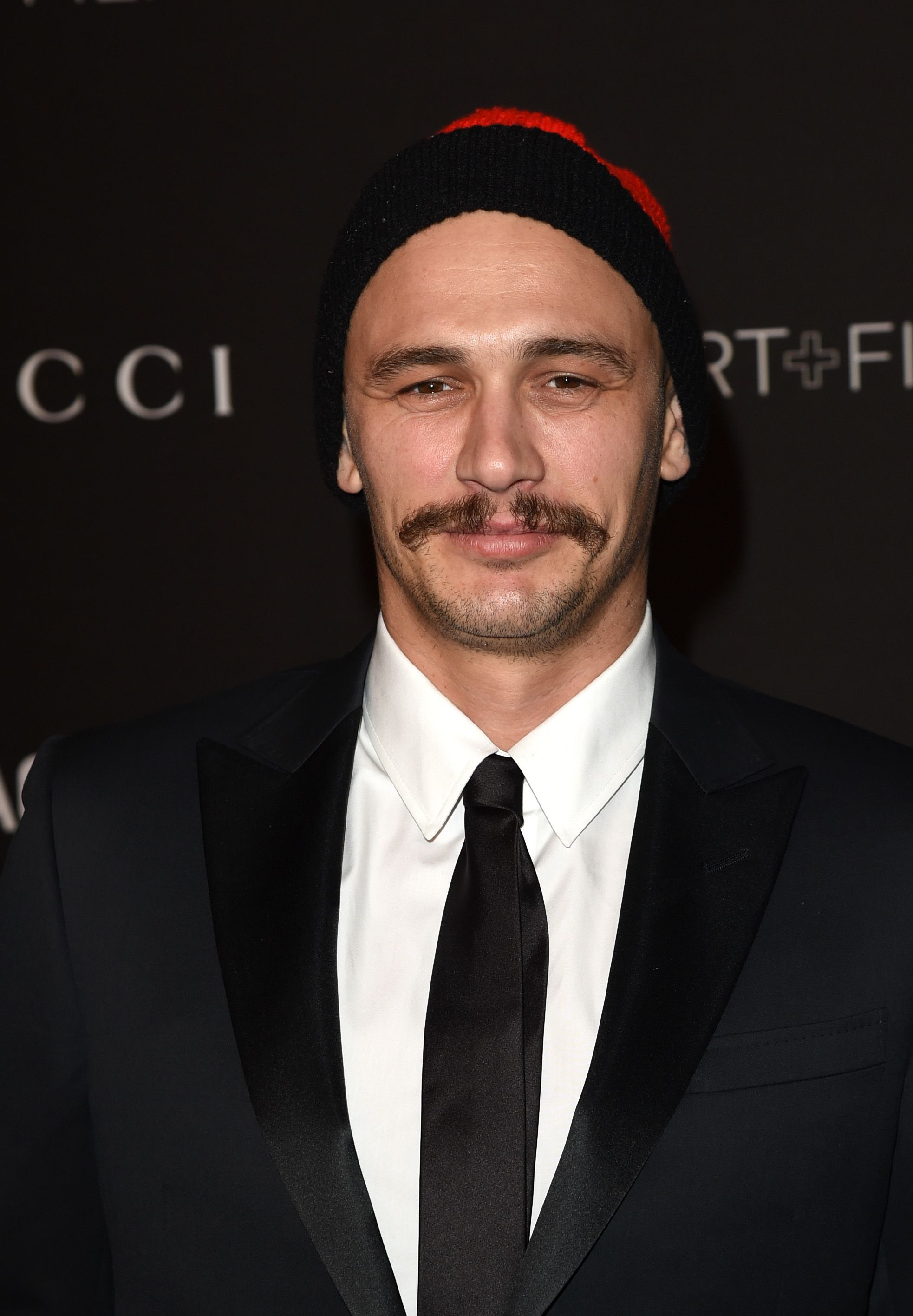 Celebrity mustaches