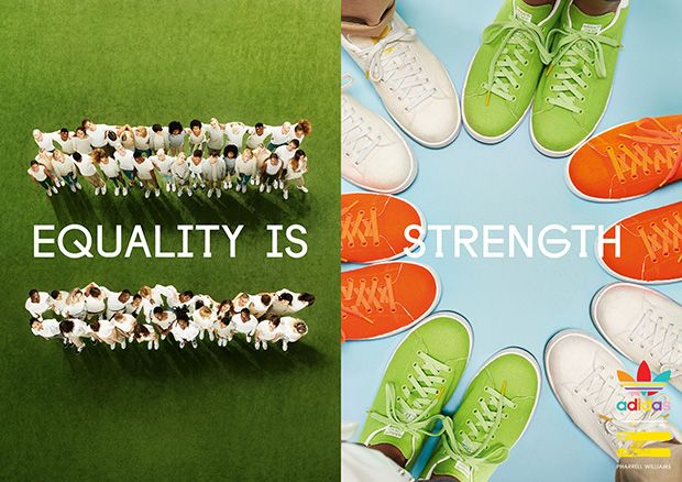 pharrell williams shoes equality