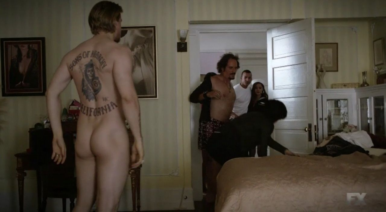 Please Charlie hunnam sons of anarchy nude you