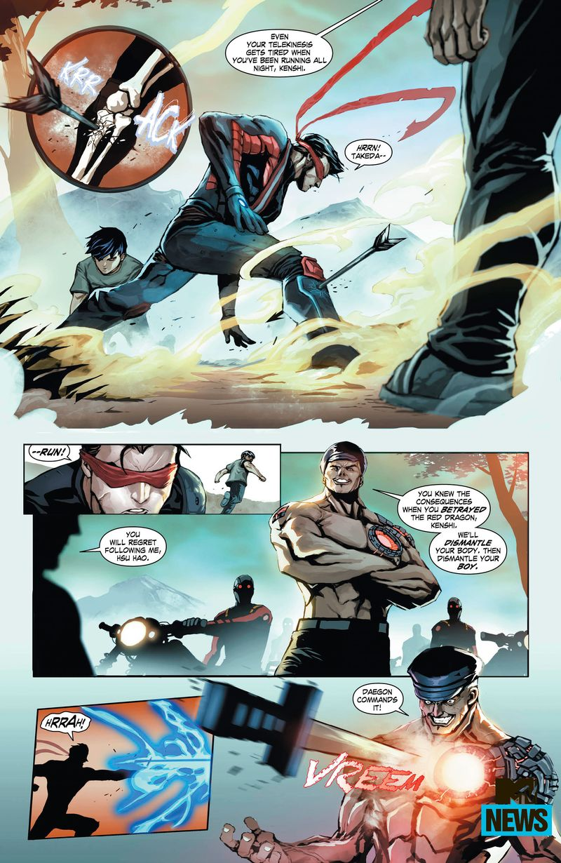 Exclusive: Get Over Here And Read This Preview Of 'Mortal