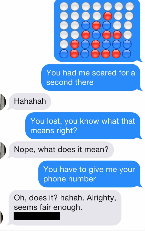 How to give a girl your number