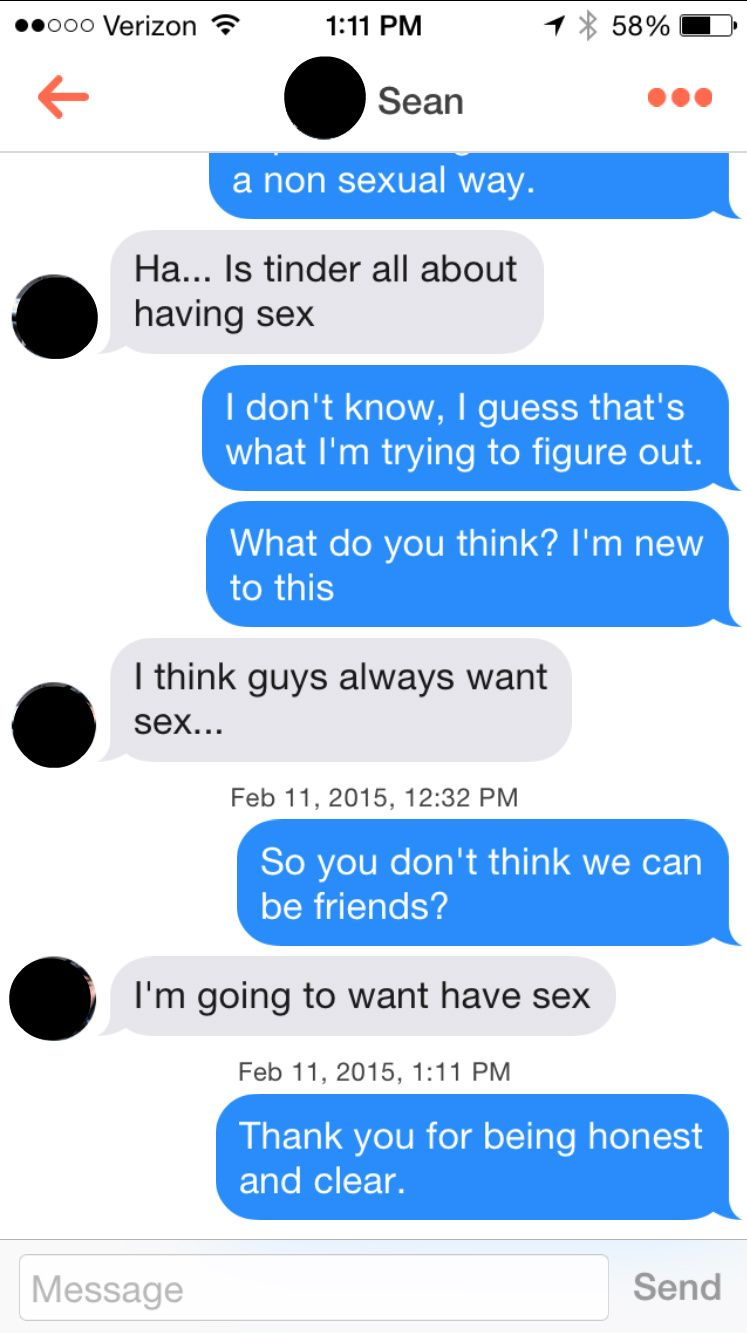 Guy wants to be friends before hookup