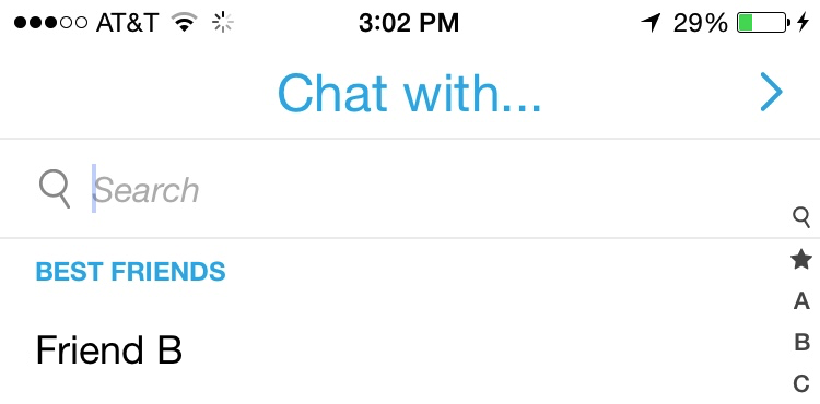 How many best friends are you allowed on snapchat