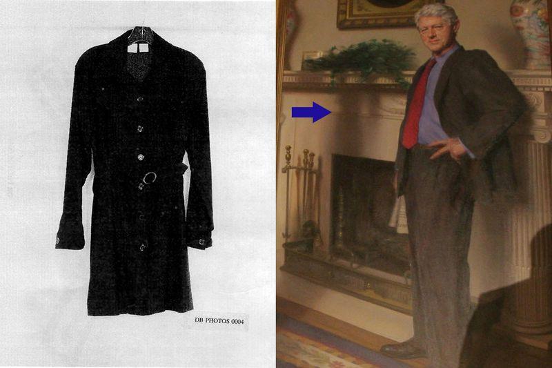 Nobody Realized Bill Clinton's Portrait Includes Monica ...