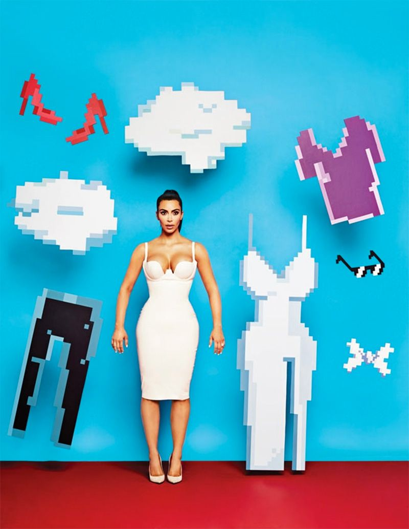 Look - Kim makes kardashian the cover of adweek video