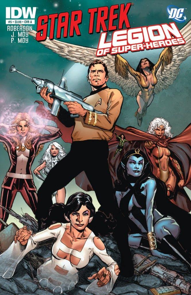7 'Star Trek' Comic Crossovers That Made Every Nerd Lose