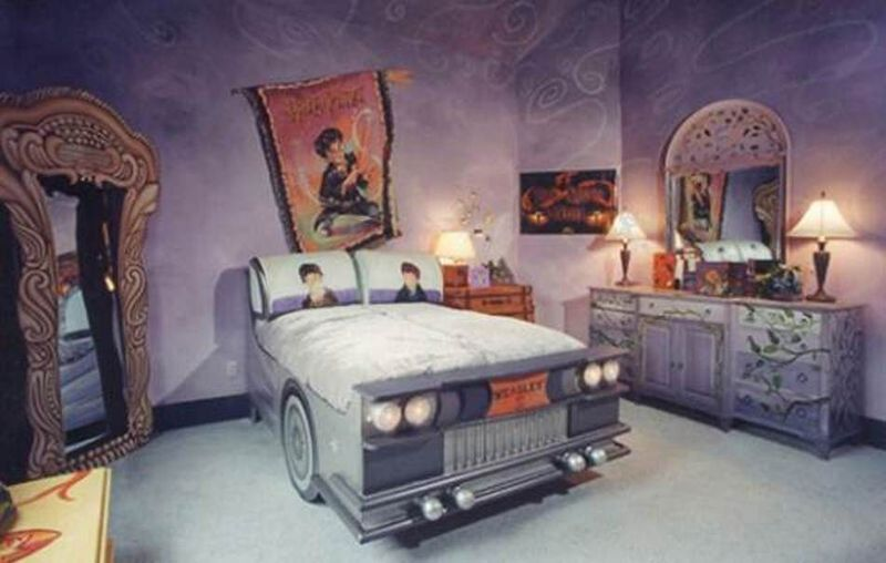 11 Harry Potter Bedrooms That Ll Put A Spell On You Mtv