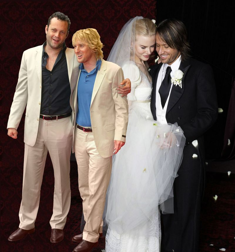 17 Celebrity Weddings The 'Wedding Crashers' Could Have