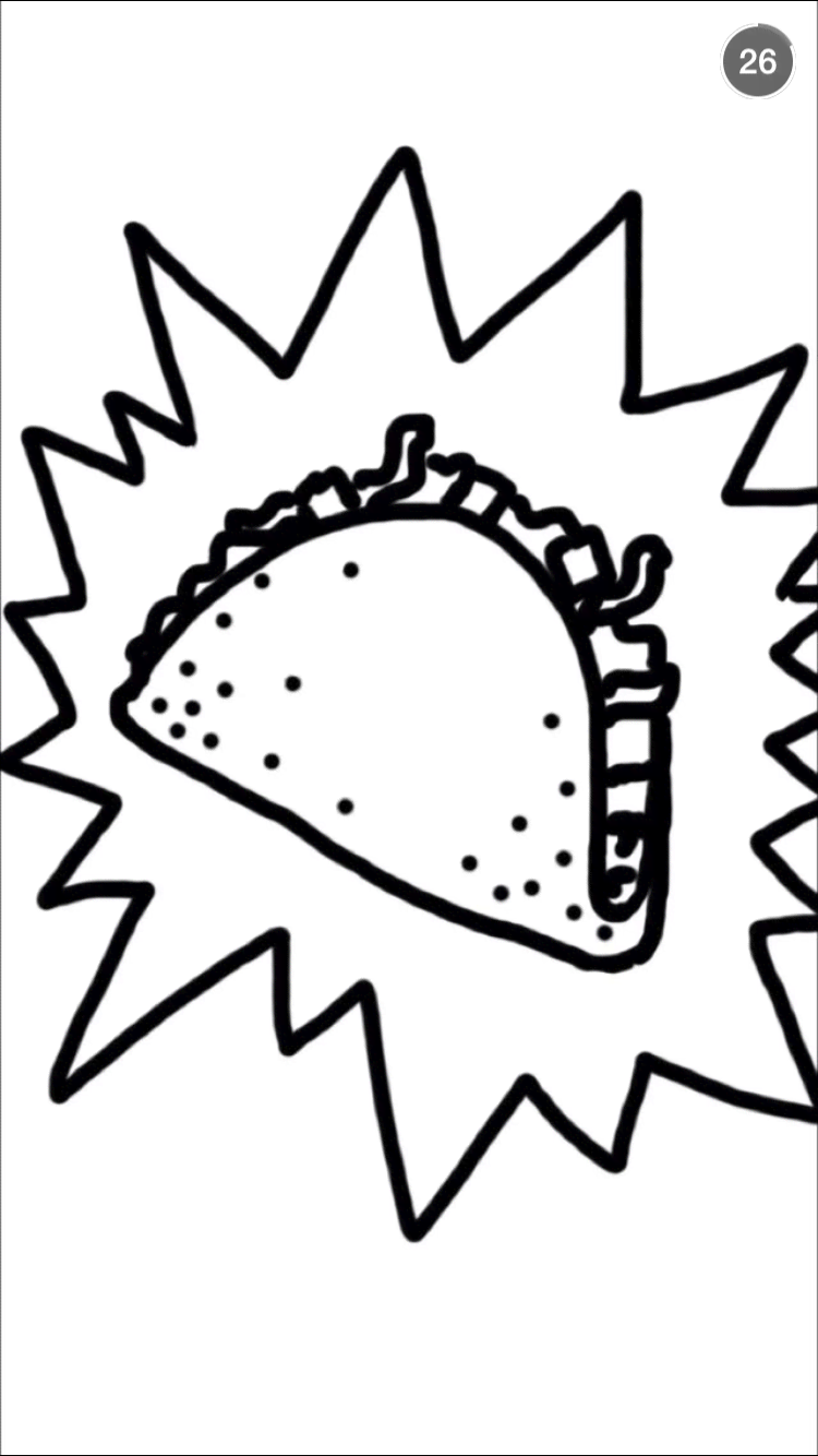 Taco Bell Coloring Pages at GetColorings.com   Free printable colorings pages to print and color