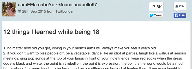 12 Camila Cabello Quotes That\'ll Make You Think About Your ...