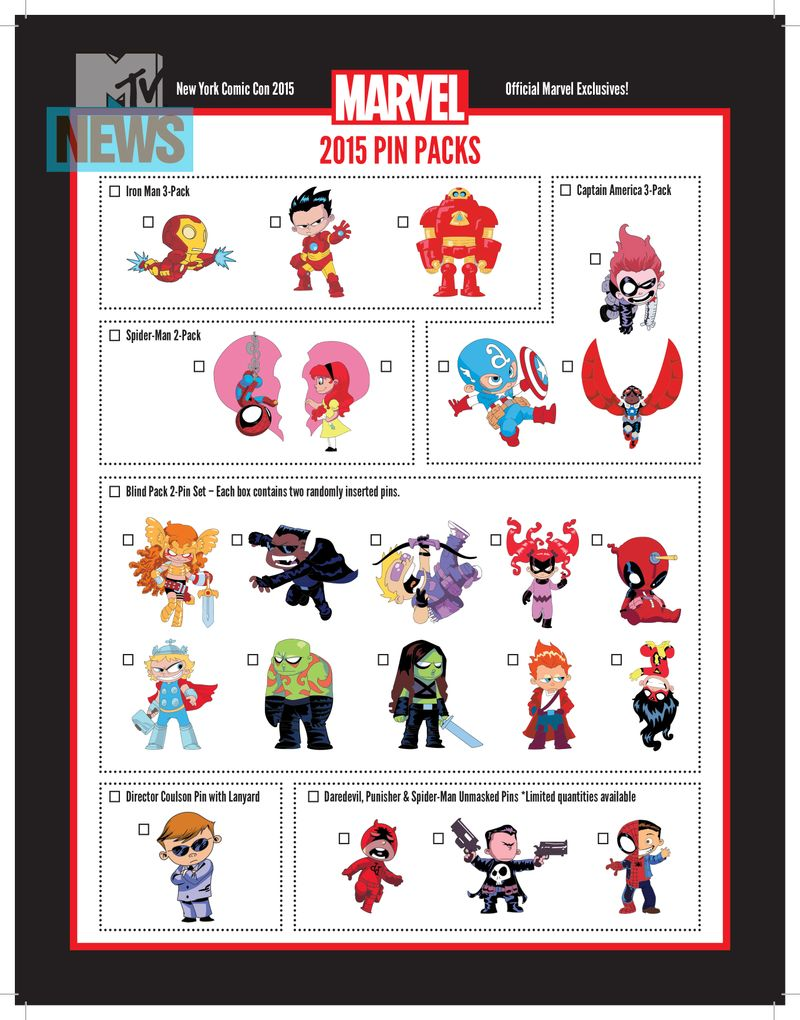 These Marvel New York Comic-Con Exclusives Are Too Adorable To Live