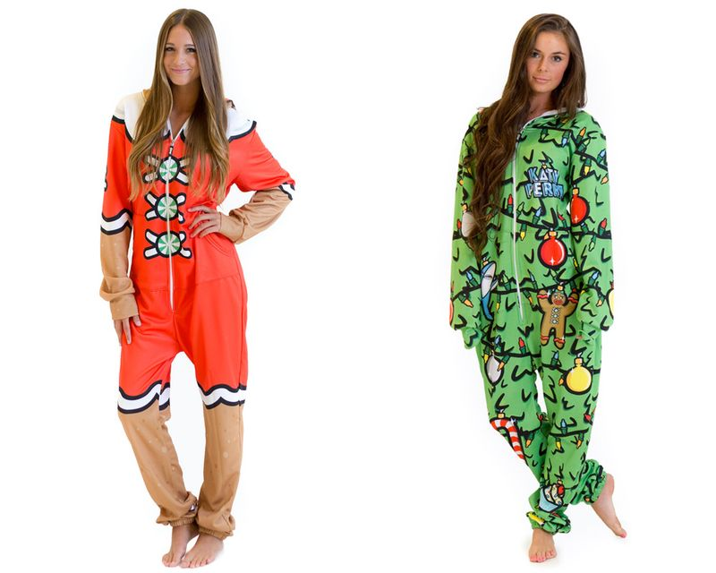 Katy Perry Spreads Holiday Cheer With New Onesie Collection - MTV