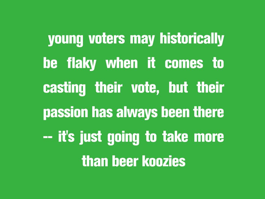 To adult young How vote