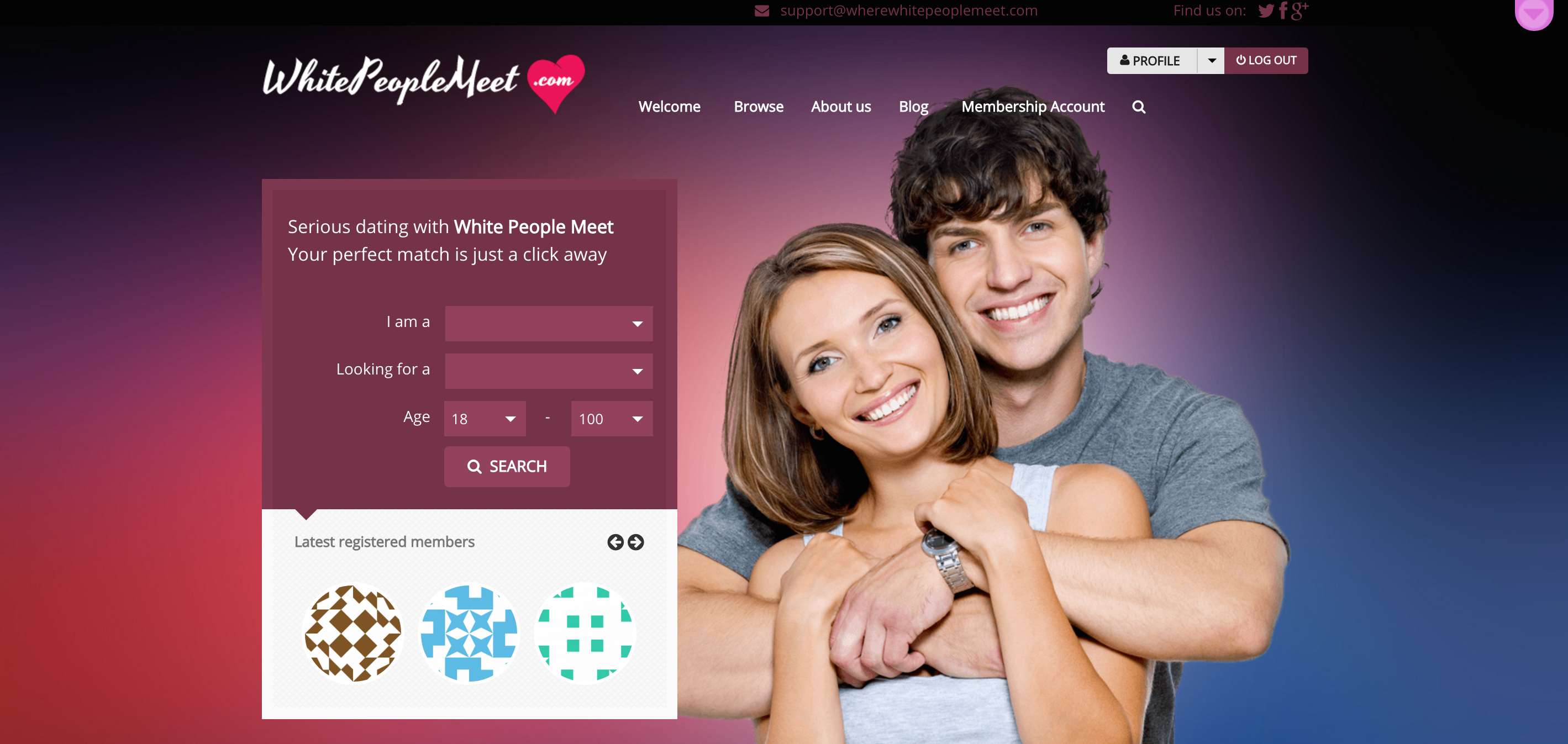 How to find a specific person on a dating site