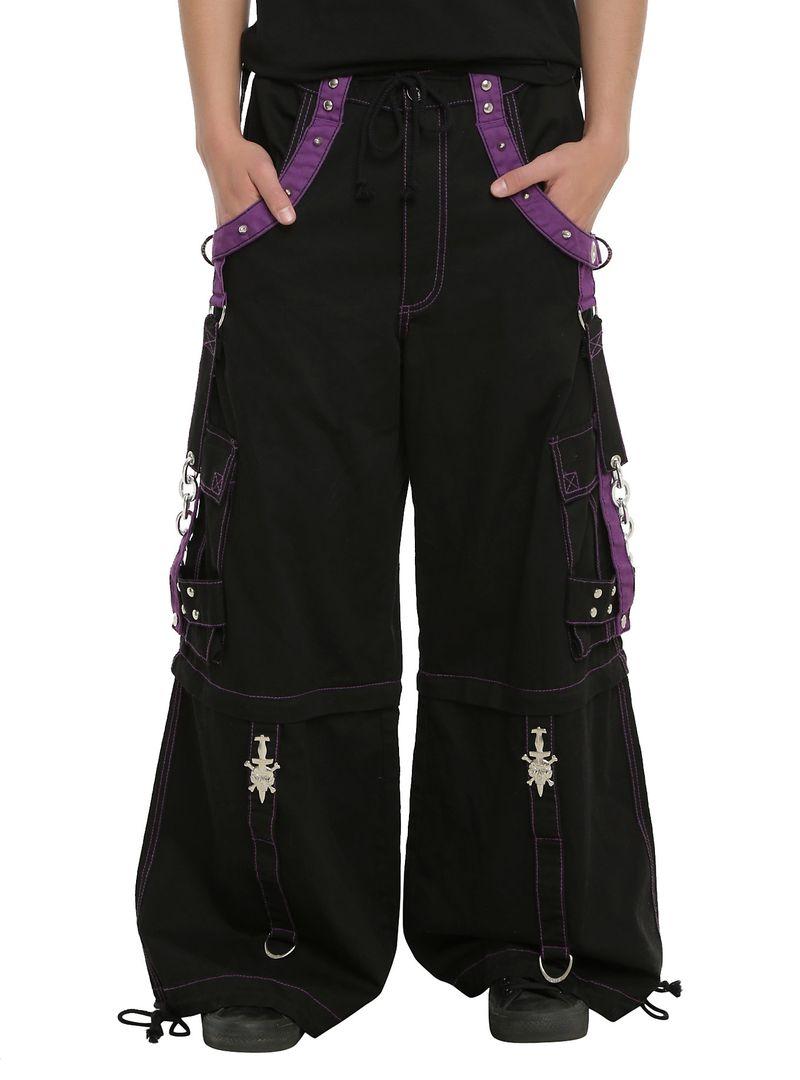 67618052 Tripp Black & Purple Darkstreet Pants. read more. Band t-shirts