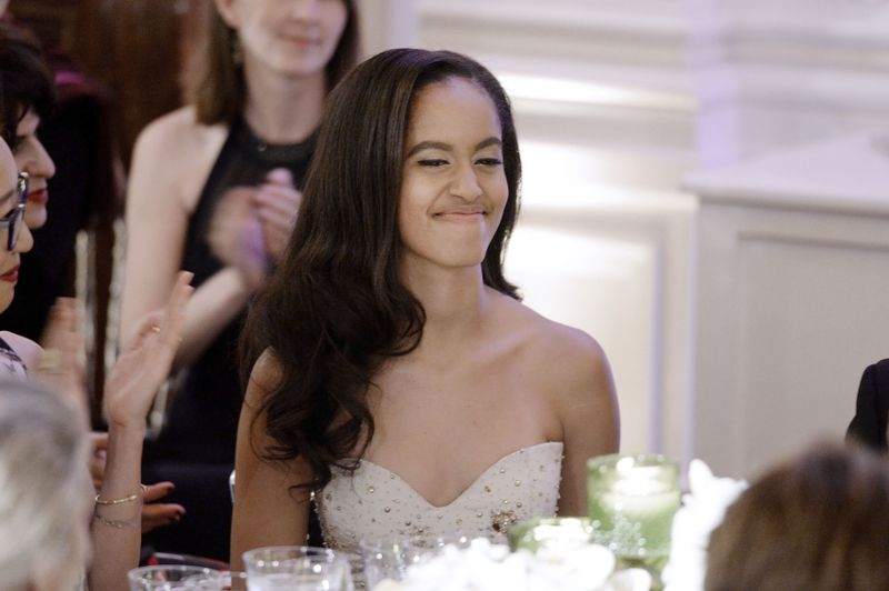 Sasha And Malia Obama Went To Their First State Dinner And Were More