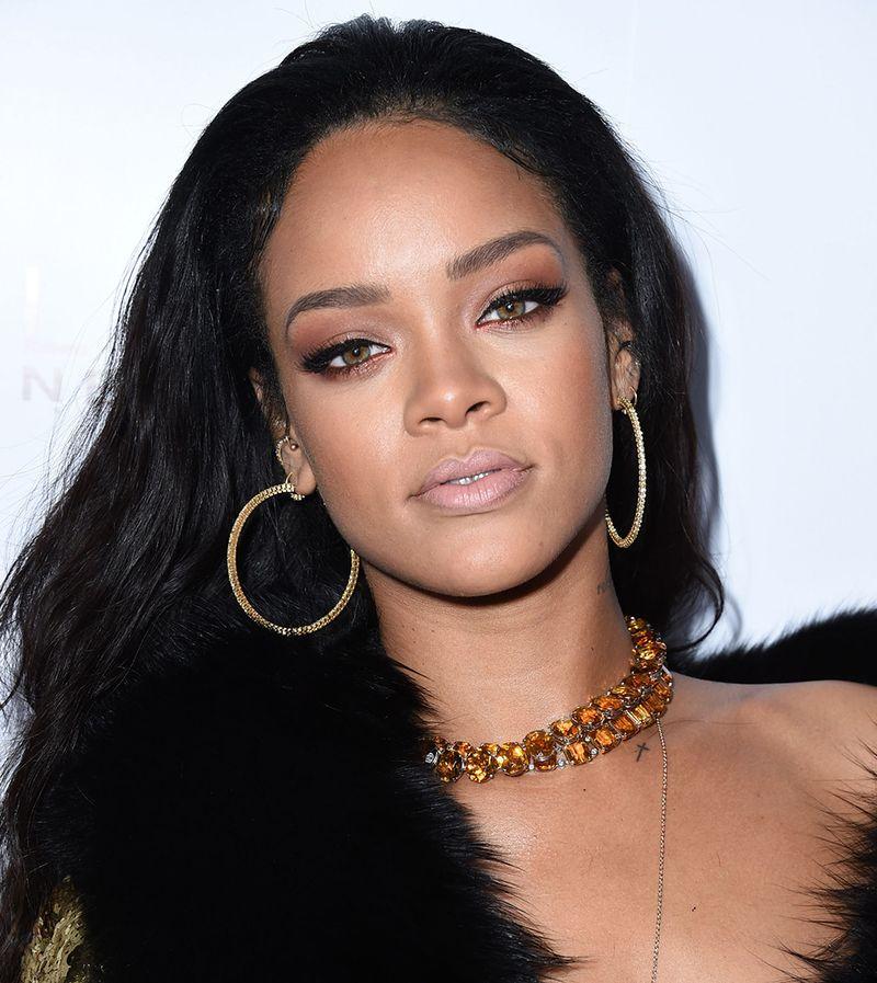 Rihanna Makeup Look