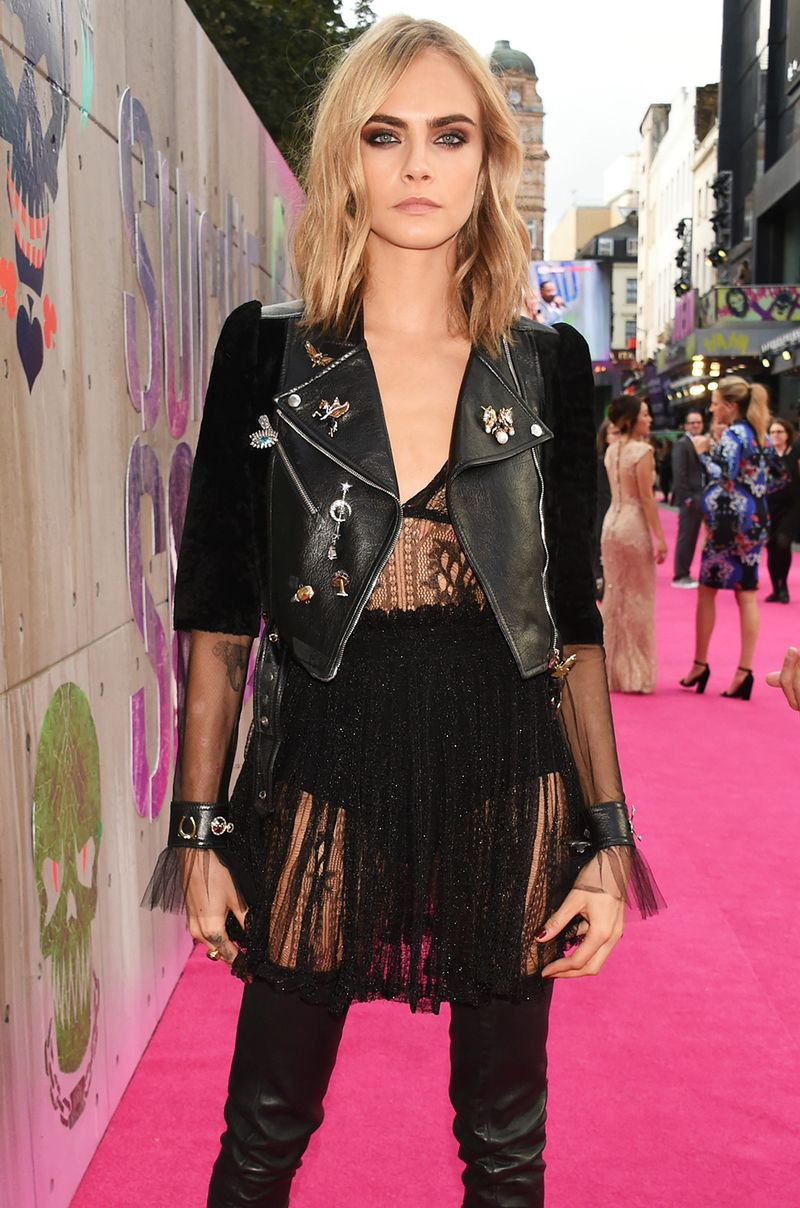 Cara Delevingne Wore All Sheer Everything For London S Suicide