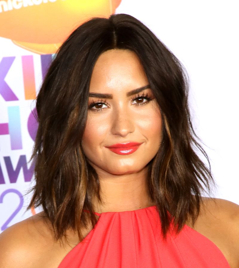 Demi Lovato S New Haircut Was Immediately Ruined By Slime Mtv