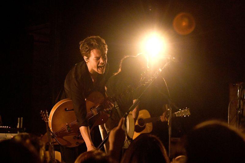 Inside Harry Styles's Very Intimate Album Release Concert - MTV