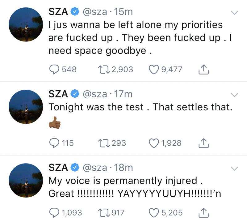 Unggahan SZA
