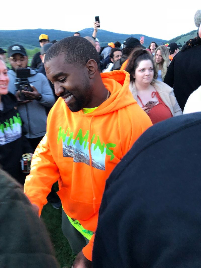 Everything We Saw At Kanye West's Star-Packed Social