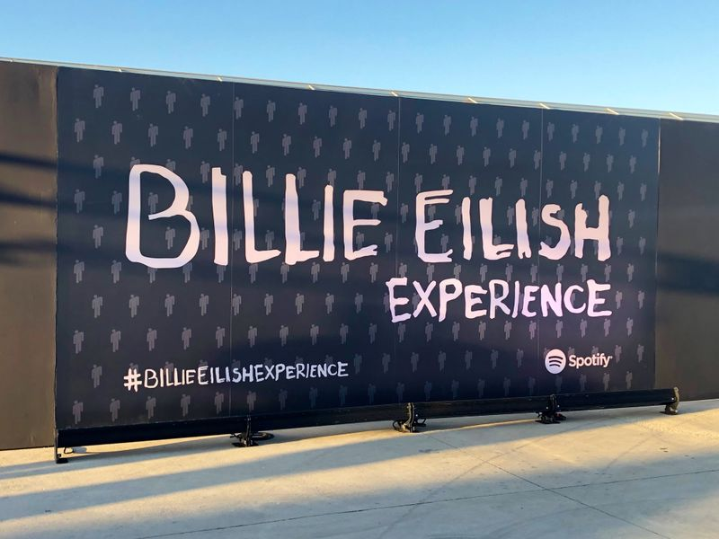 Billie Eilish Tells Us About Her Spotify Pop-Up, Sampling The Office