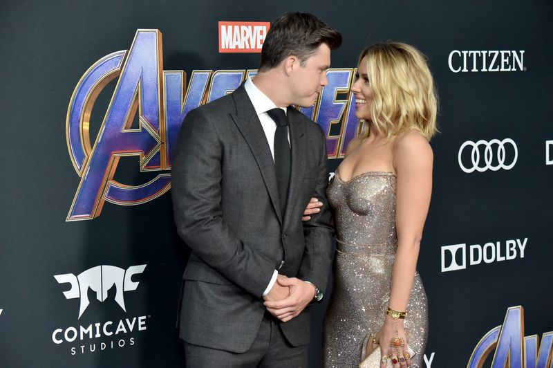Scarlett Johansson And Colin Jost Got Engaged After Two Years Of Dating Mtv